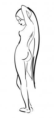 Beautiful sexy nude girl
