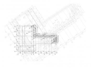 Vector elements for your design. The engineering plan of the hou
