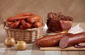 uzeniny a maso