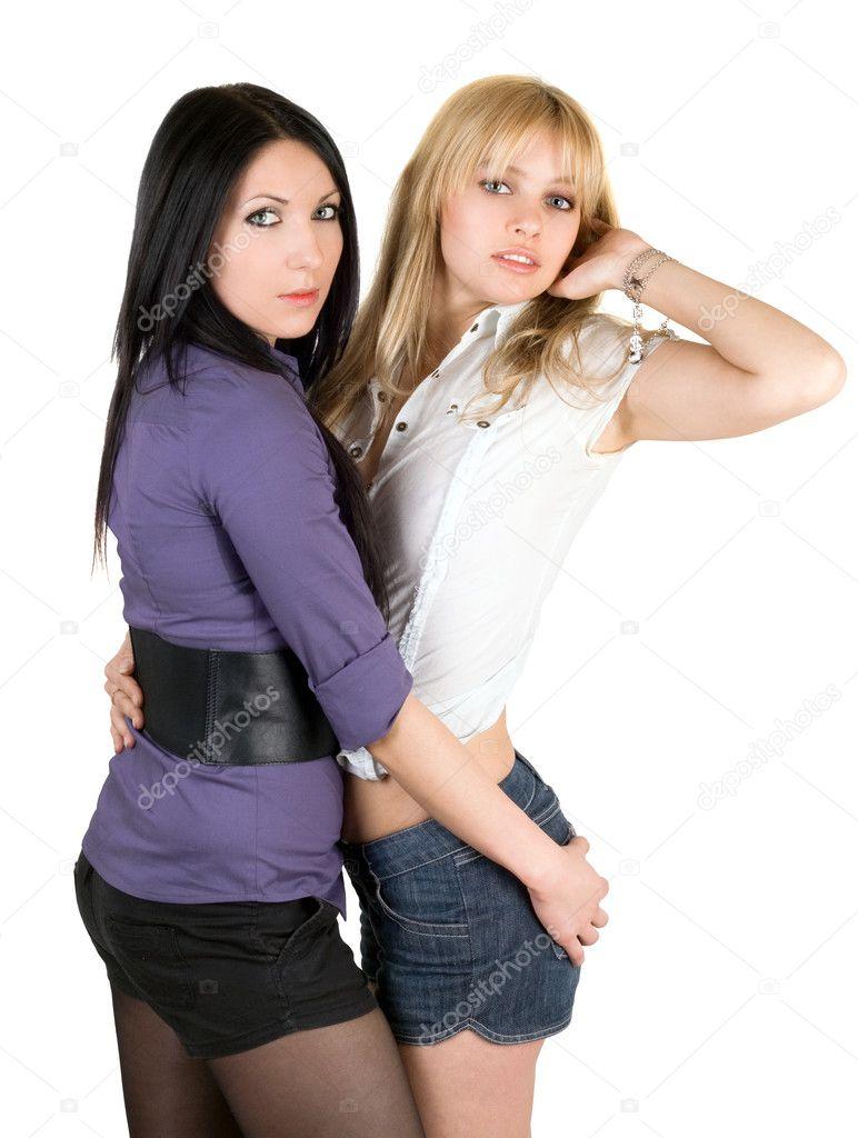 Две малолетки подружки трахают друг друга
