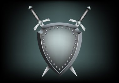 Safety shield and swords