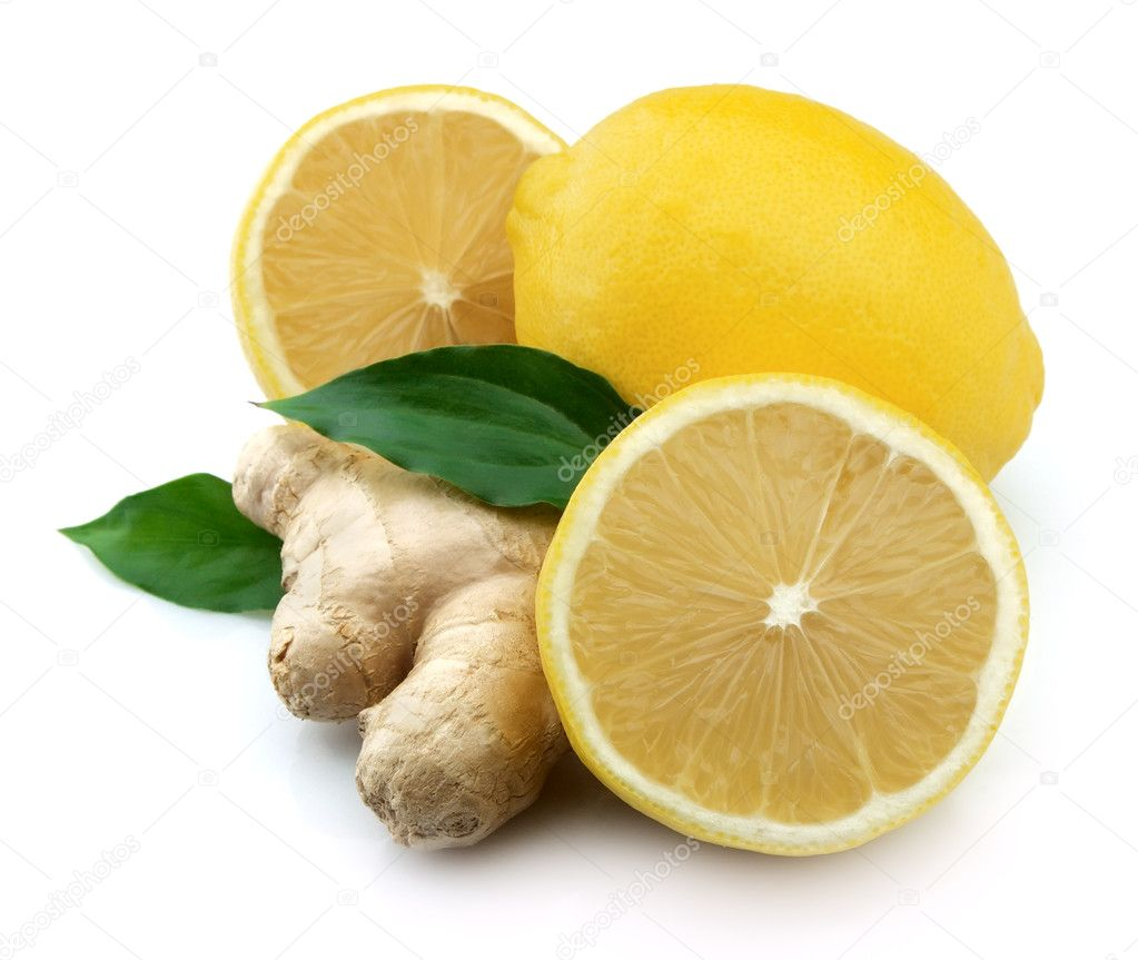 Lemons and ginger
