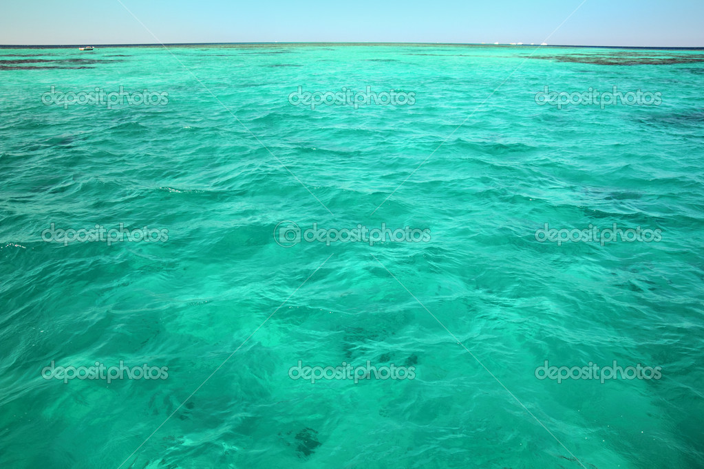 color turquesa del salón t rkisfarbene meer oberfl che hintergrund stockfoto