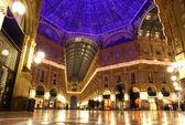 Galleria vittorio emanuele a Milano, Italia