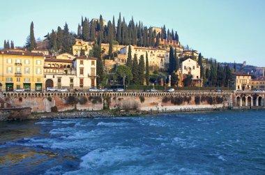 Castel San Pietro and Adige river in Verona