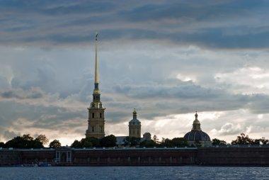 Peter and Paul Fortress in Saint Petersburg