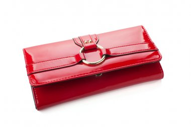 Red woman wallet