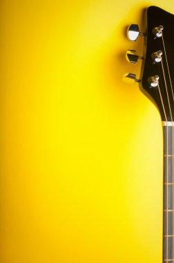 Music yellow background