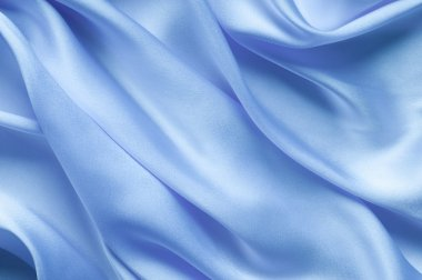 Blue satin background #2