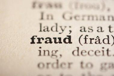 Word fraud