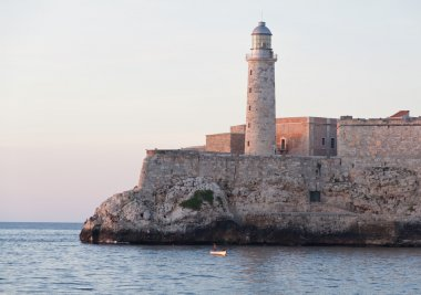 El Morro castle at the sunset, Havana, Cuba