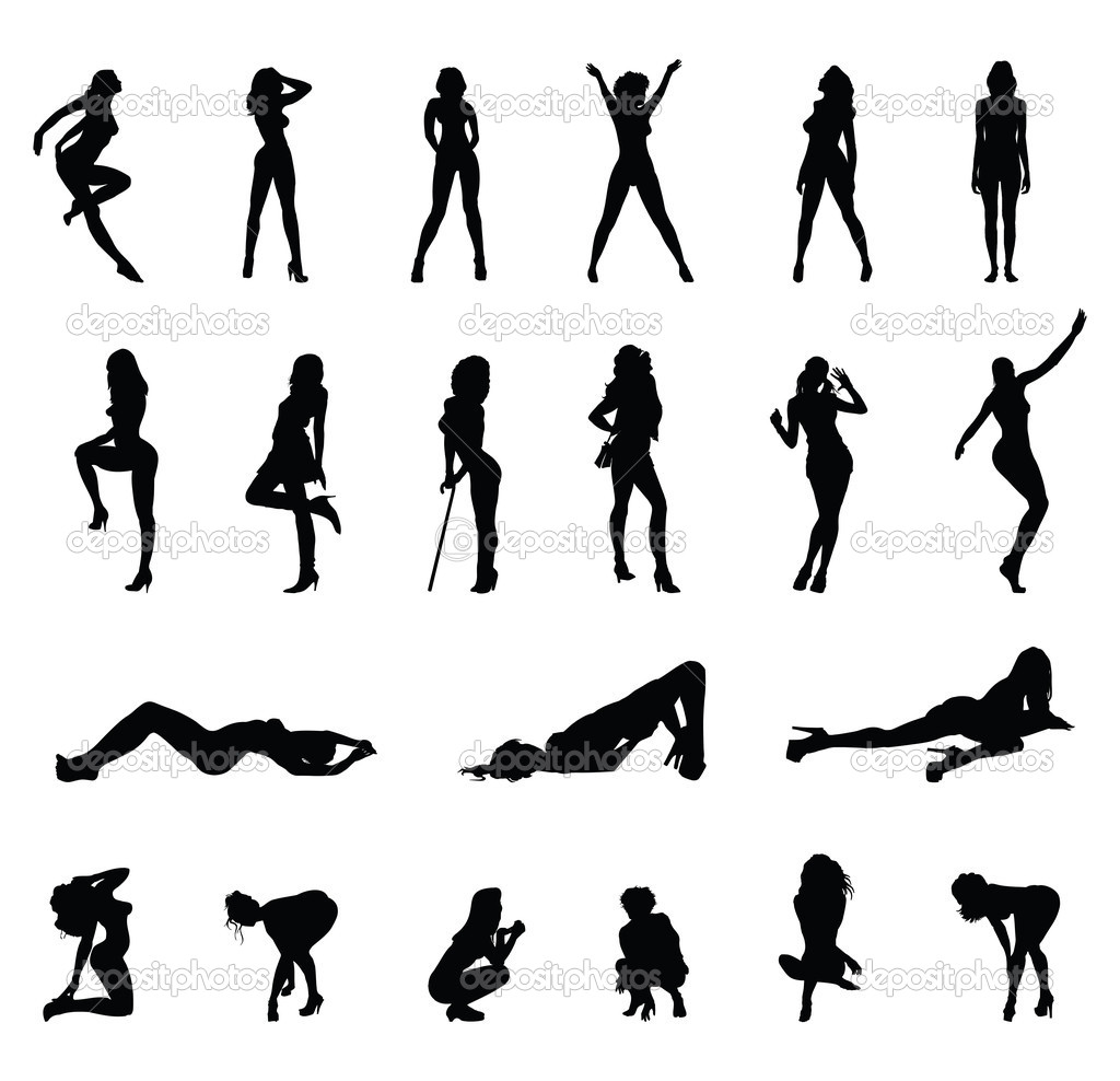 High Quality Women Silhouettes