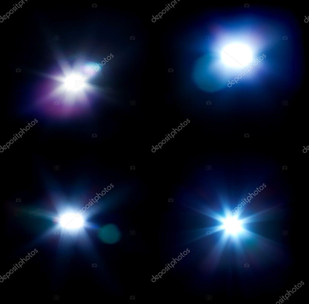 Four flares