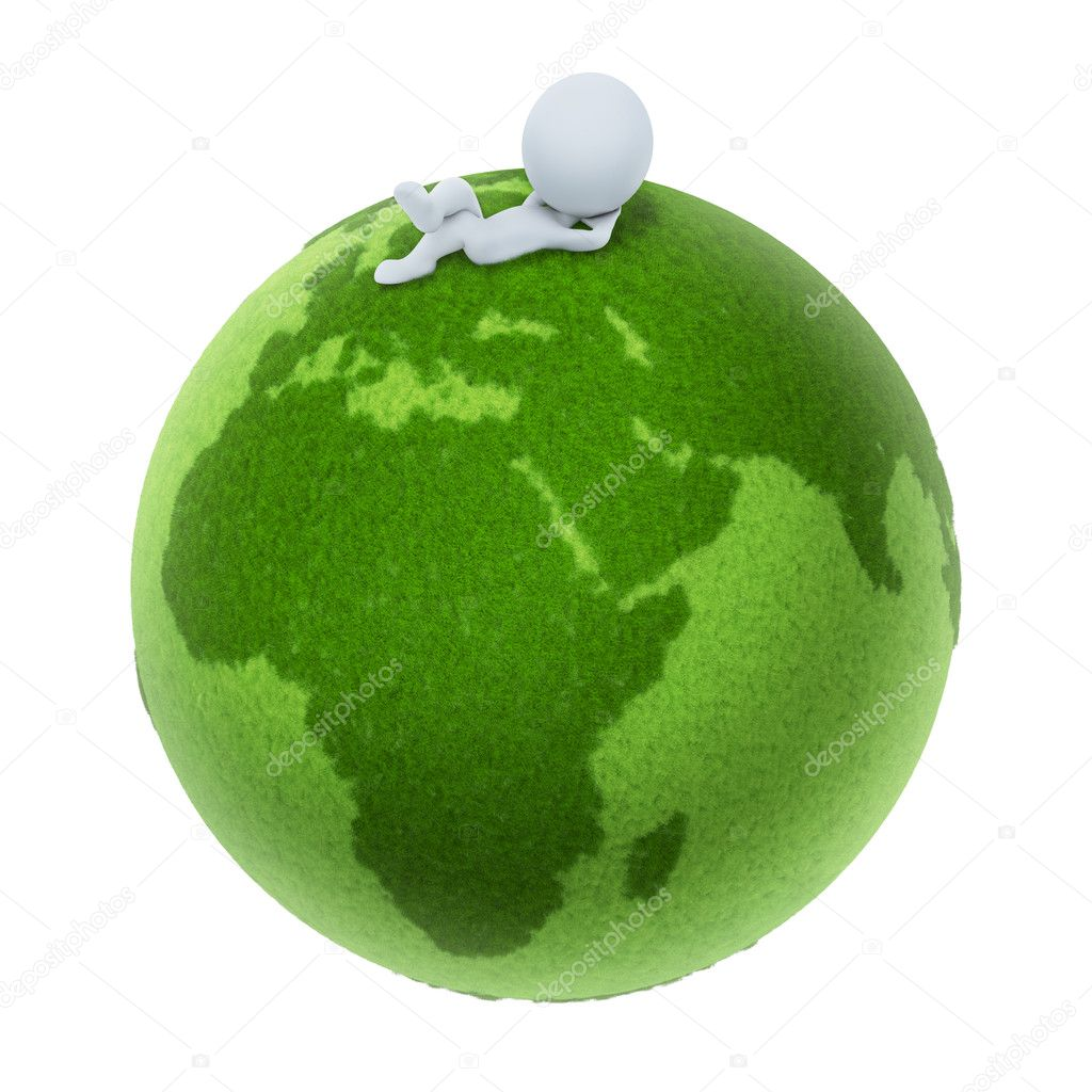 3d small - Green Earth