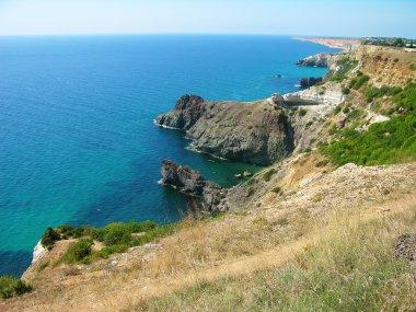 Fiolent cape, Crimea, Ukraine