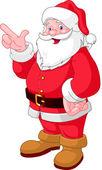 Fényképek Karácsonyi Santa mutat