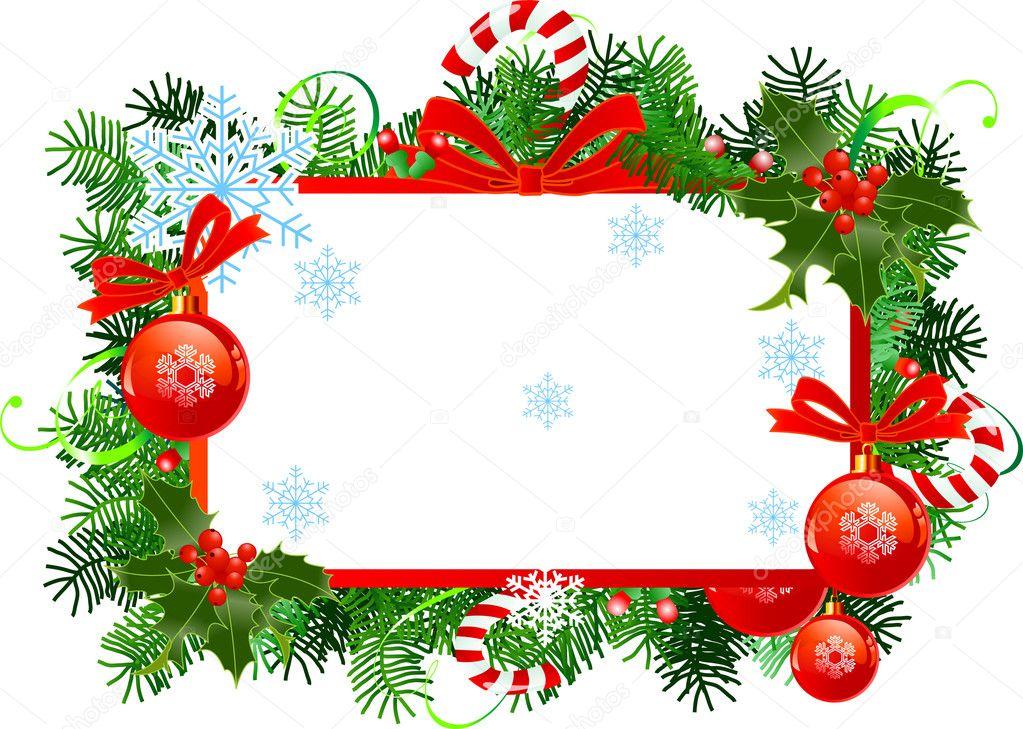Cornice Natale — Vettoriali Stock © Dazdraperma #4454466