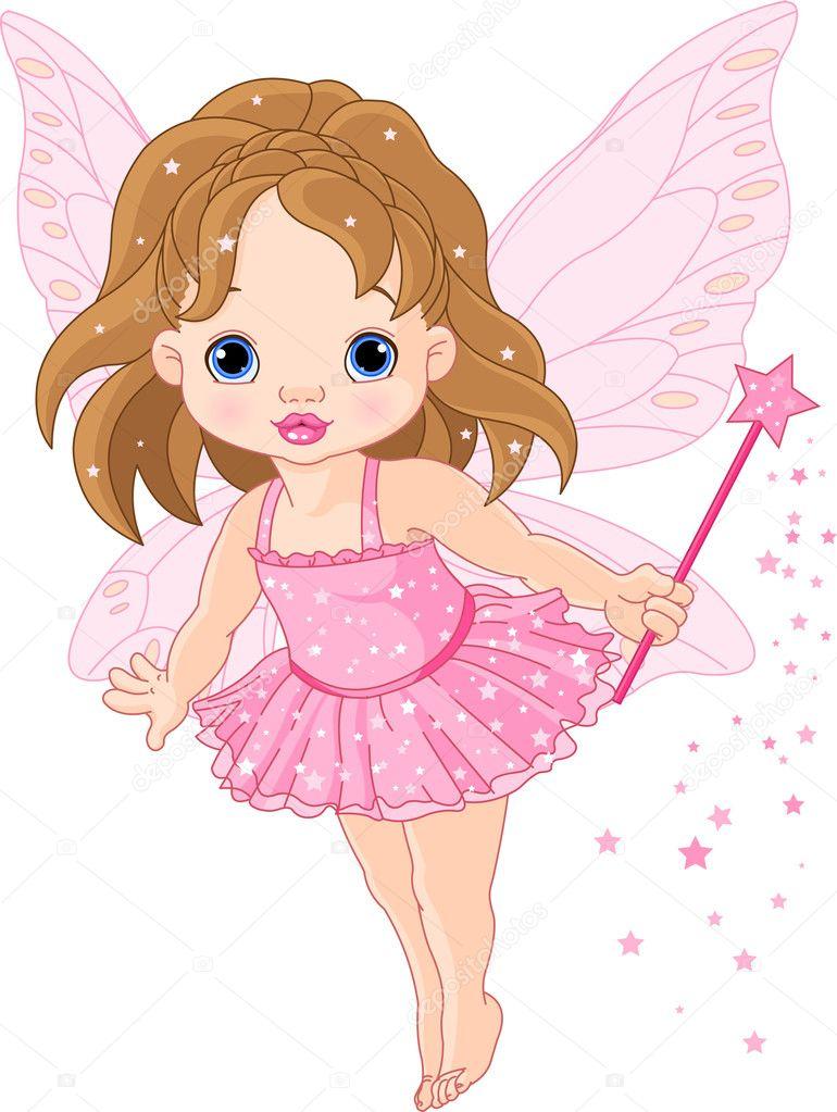 Cute Baby Fairies: Stock Vector © Dazdraperma #4650832