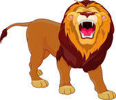 Fotografie Roaring lion