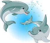 Delfinek pár