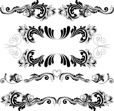 Set of symmetric ornaments 2