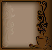 Antique coffee Frame