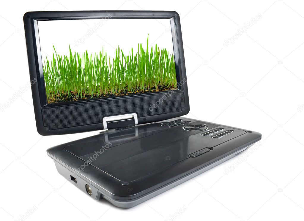Portable dvd player and tv