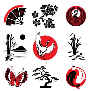 Japanese design elements