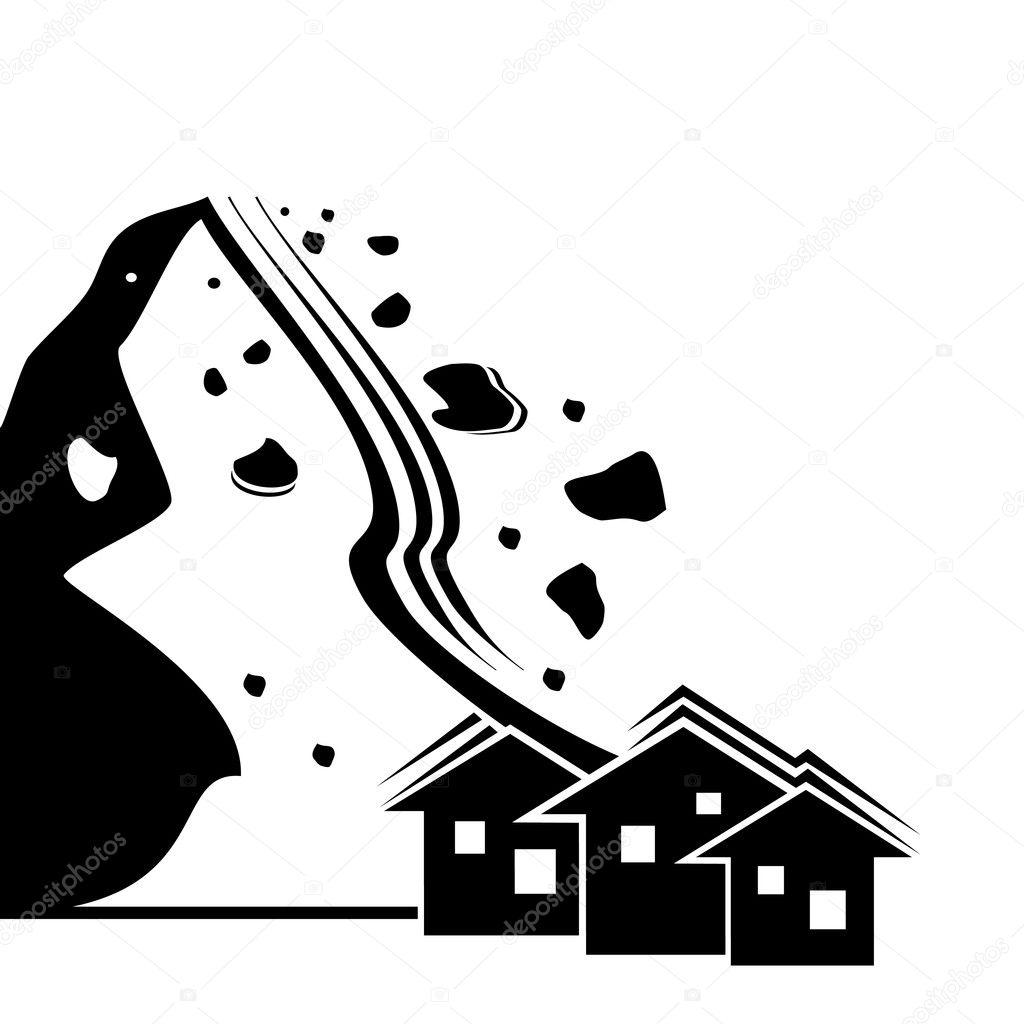 Earthquake simbol