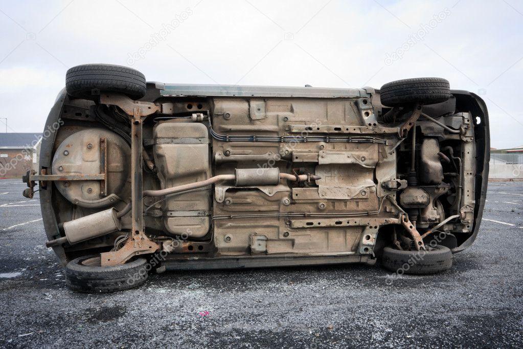 Car bottom — Stock Photo © rihardzz #5215684