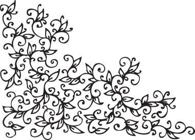 Refined Floral vignette CVIII