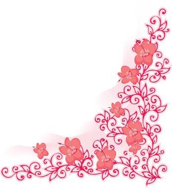 Refined Floral vignette In Color CCCXV