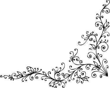 Floral vignette CCCXLV