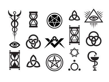 Mystique Symbols set VI