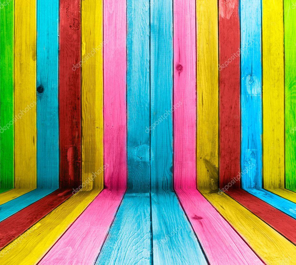 Creative wooden background