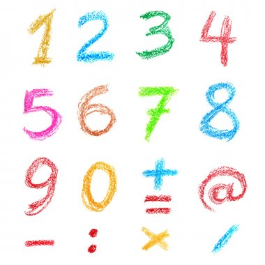 Crayon numbers