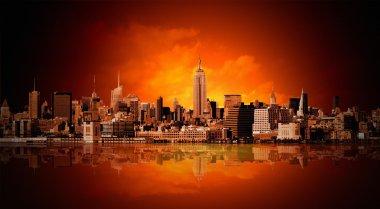 """Картина, постер, плакат, фотообои """"нью-йорк"""", артикул 5089764"""