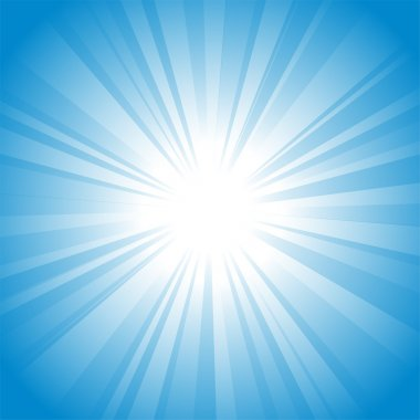 Sun vector background