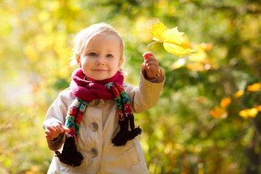 Outdoor autumn portrait