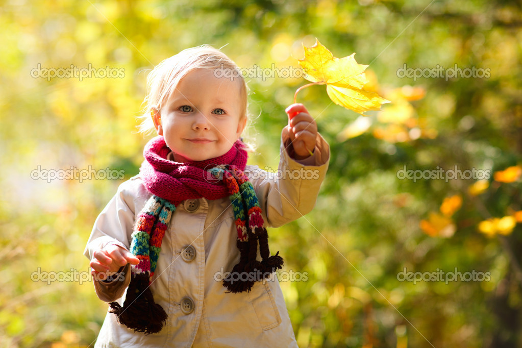 Outdoor autumn portrait