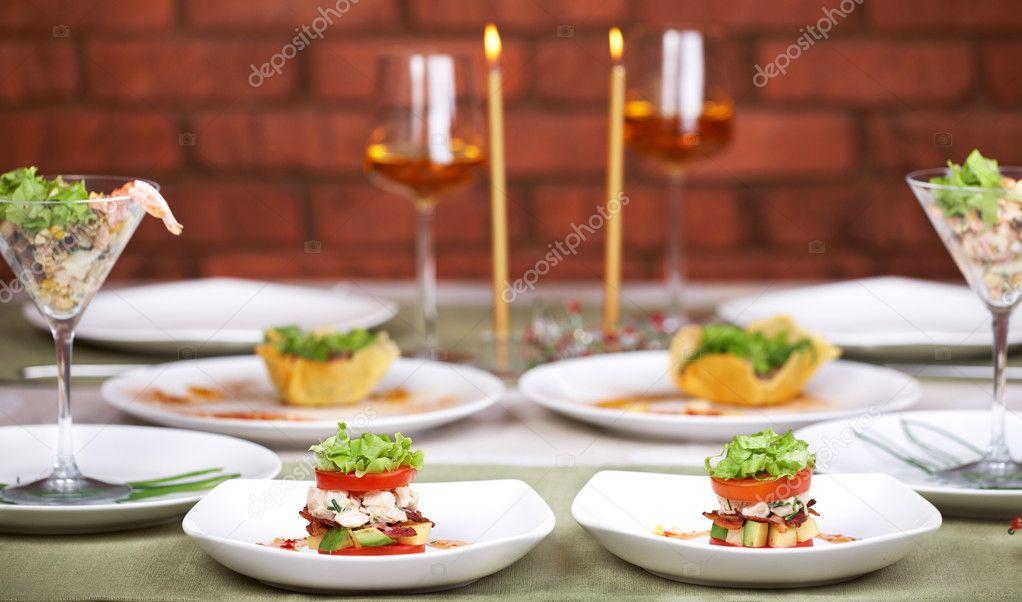 Романтический ужин меню рецепты фото