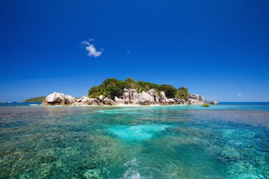 Coco island in Seychelles