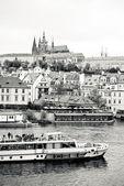 Praha v černé a bílé