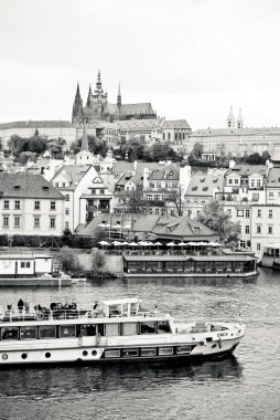 Prague in black and white