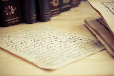 Old aged letter