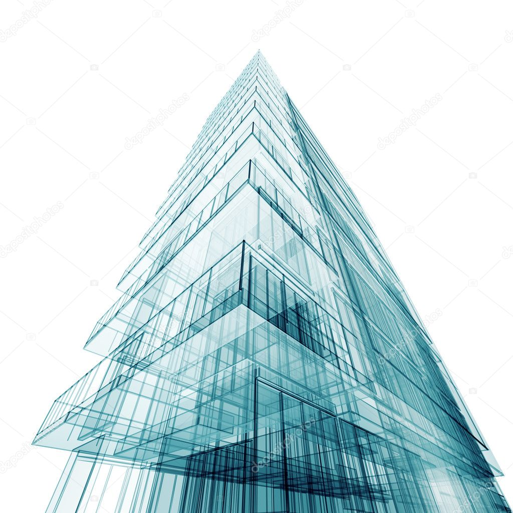 Contemporary Abstract Building Stock Photo 169 1xpert 5244023