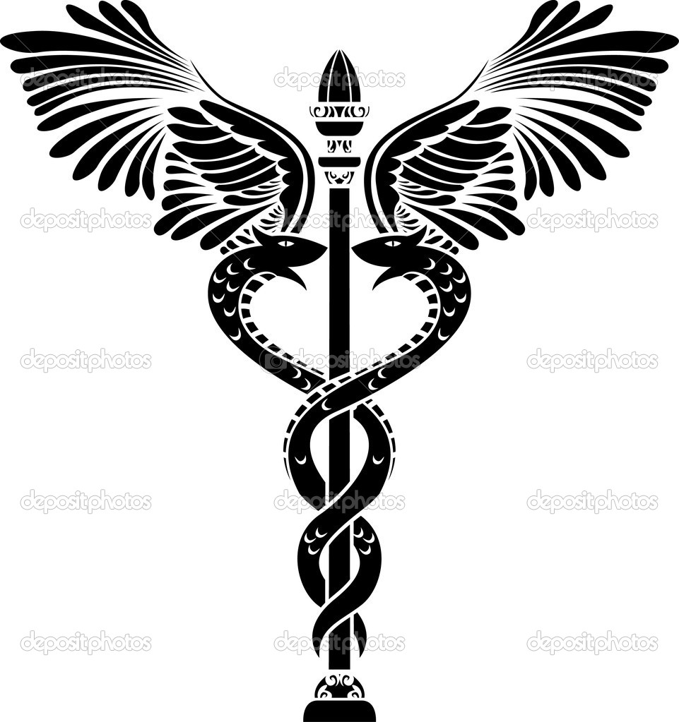 Medical symbol caduceus stencil stock vector kristino0702 5289482 medical symbol caduceus stencil stock vector buycottarizona Image collections