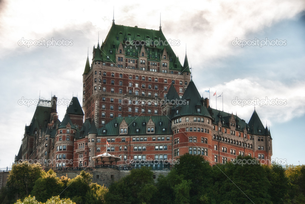 Majesty of Chateau de Frontenac, Quebec City