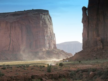 Summer in the Monument Valley