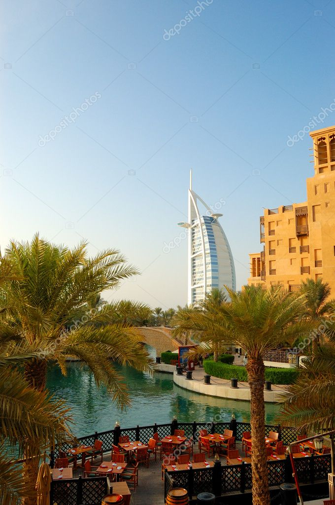 Luxury hotel Burj Al Arab